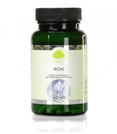 Železo (bisglicinat) 20 mg, 60 kapsul