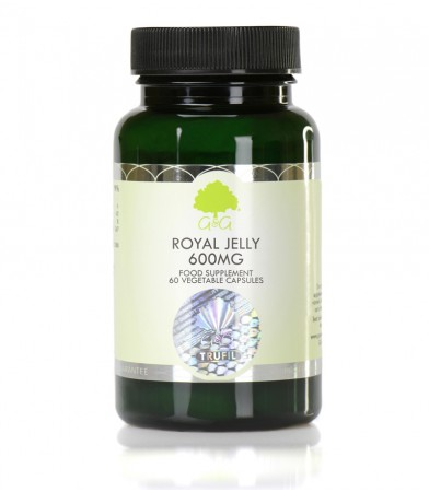 Matični mleček (Royal Jelly), 600 mg, 60 kapsul