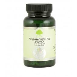 Omega 3 za otroke, ribje olje 500 mg, 120 kapsul