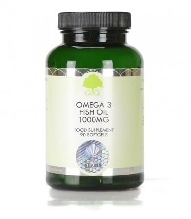 Omega 3, Ribje olje 3000 mg, 90 kapsul