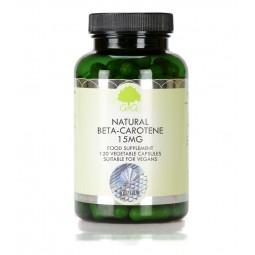 Naravni beta-karoten 15 mg, 120 kapsul