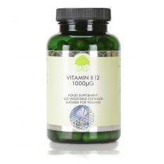 Vitamin B12, Metilkobalamin, 1000 μg, 120 kapsul