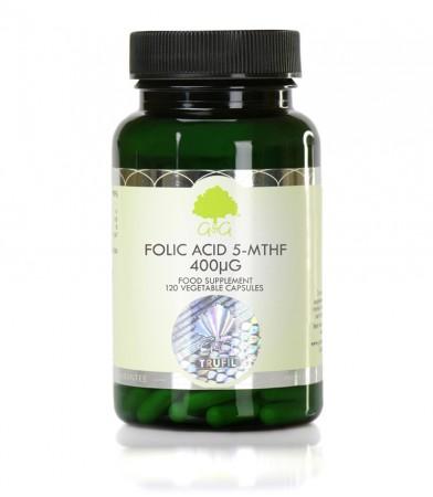 Bioaktivna oblika folne kisline 5-MTHF, 120 kapsul