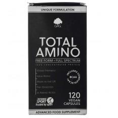 Total Amino, kompleks 20 aminokislin, 120 kapsul